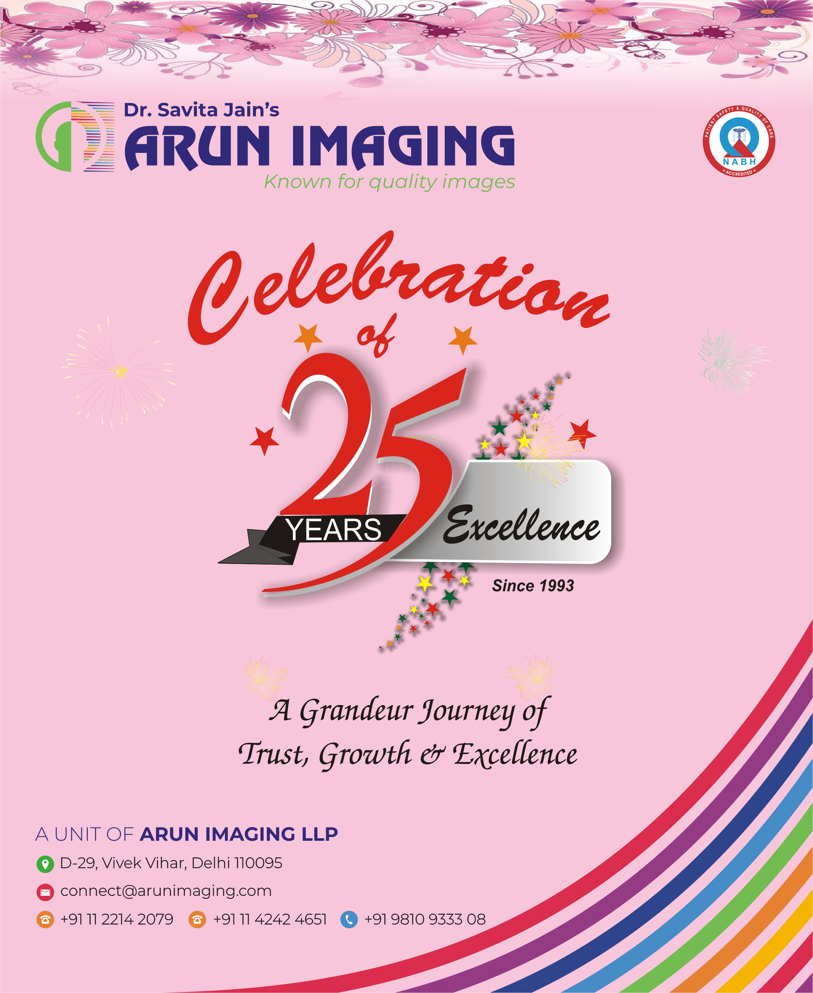 Celebrating The 25 Years Of Glorious Success In Imaging Domain